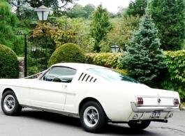 Ford Mustang wedding car hire in Tunbridge Wells